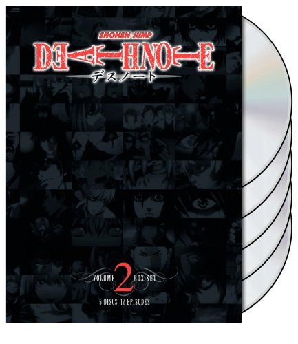 Box Set 2 Death Note Jpn Lng Eng Dub Sub Nr 5 DVD