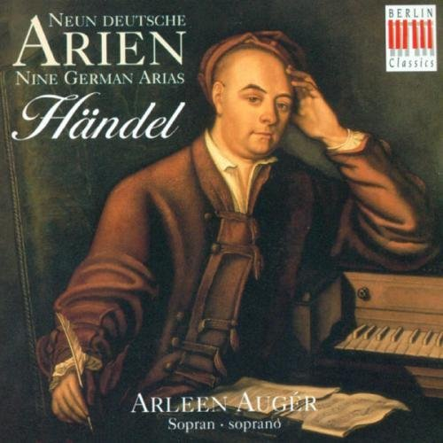 George Frideric Handel 9 German Arias