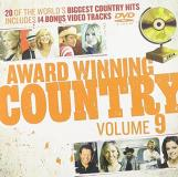 Award Winning Country Vol. 9 Award Winning Country Import Aus Incl. DVD