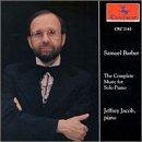 S. Barber/Piano Works-Comp@Jacob*jeffrey (Pno)