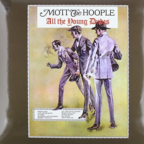 Mott The Hoople All The Young Dudes Lp