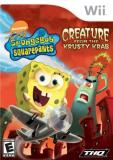 Wii Spongebob Creature From The Kr Thq