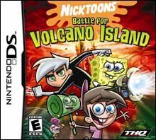 Nintendo Ds Nicktoons Battle Volcano