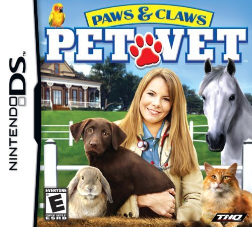 Nintendo Ds Paws And Claws Pet Vet