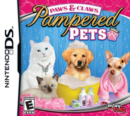 Nintendo Ds Paws & Claws Pampered Pets