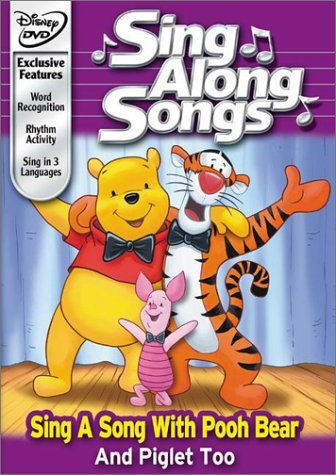 Sing Along Songs Sing A Song With Pooh Bear & P Clr Nr
