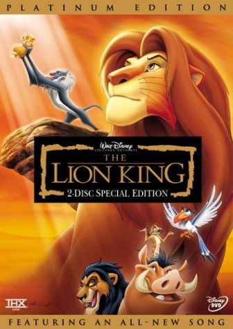 Lion King Lion King Clr Nr 2 DVD Spec. E