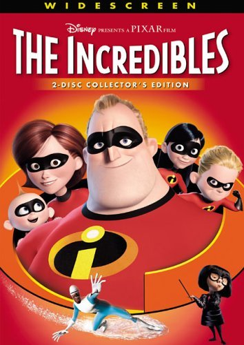 Incredibles Disney DVD Pg