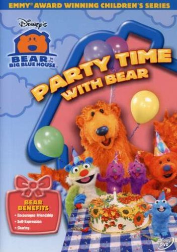 Party Time W Bear Bear In The Big Blue House Clr Nr