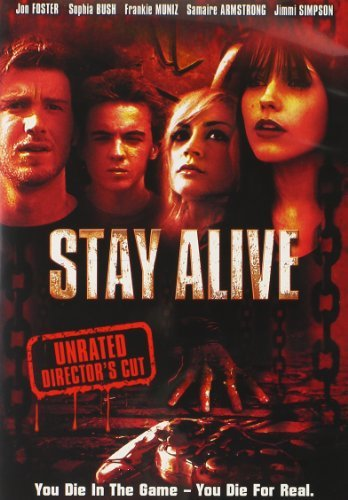Stay Alive Foster Armstrong Muniz DVD Nr Unrated