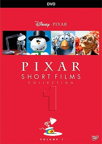 Pixar Short Films Volume 1 DVD Nr