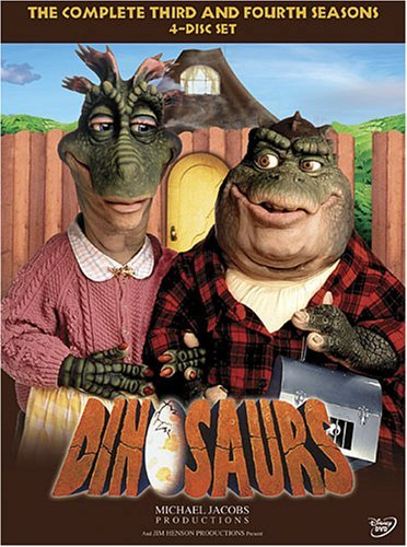 Dinosaurs Seasons 3 & 4 DVD Dinosaurs Seasons 3 & 4