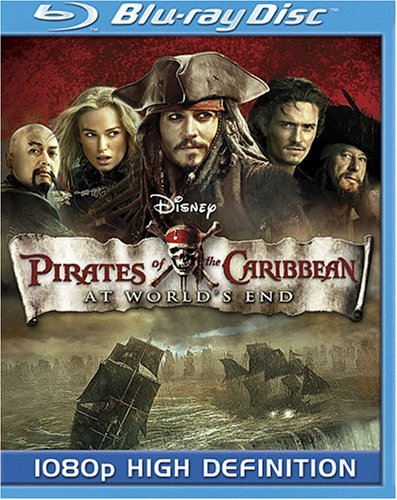 Pirates Of The Caribbean At Wo Depp Bloom Ws Blu Ray Pg 13 2 DVD