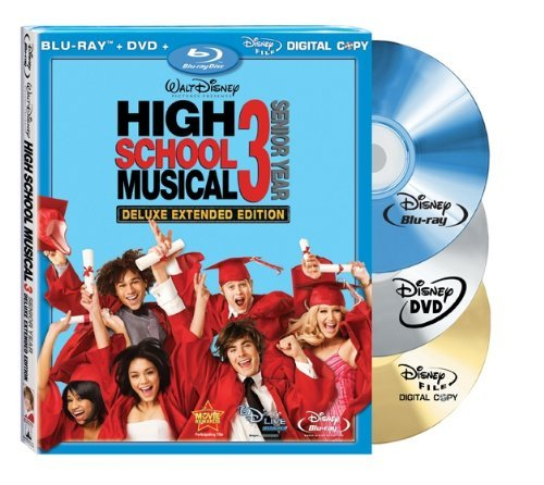 High School Musical 3 Senior Efron Hudgens Tisdale Bleu Ws Blu Ray G 3 DVD