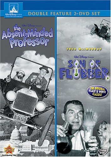 Absent Minded Professor Son Of Flubber Double Feature DVD G