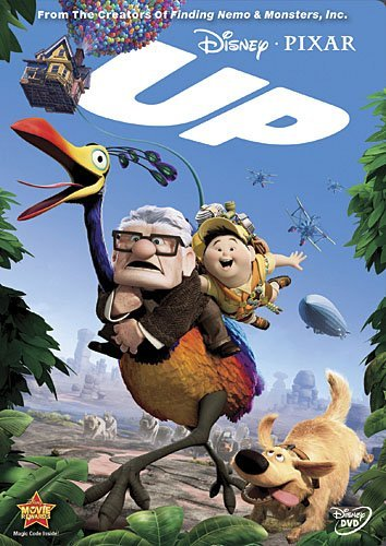 Up Disney DVD Pg