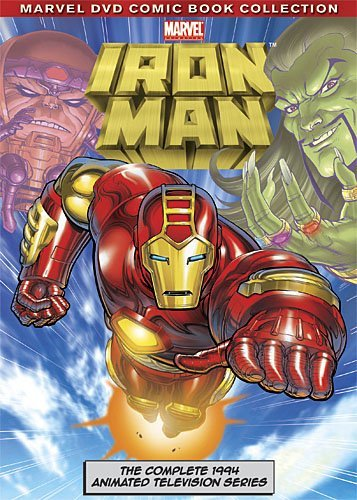 Iron Man Complete Animated Series DVD