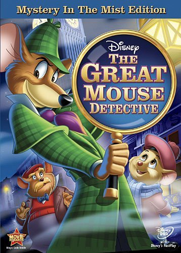 Great Mouse Detective Disney DVD G