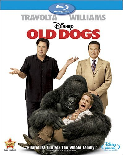 Old Dogs Travolta Williams Preston Ws Blu Ray Pg