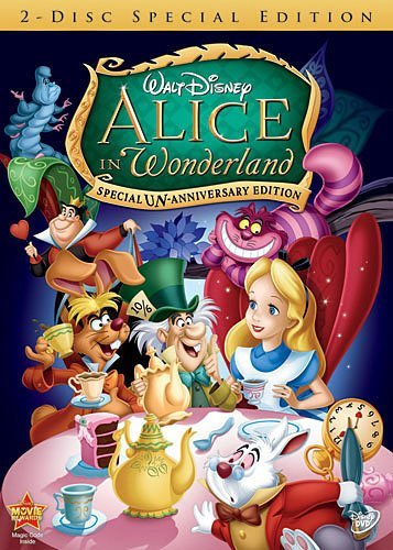 Alice In Wonderland Disney DVD Disney