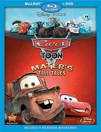 Mater's Tall Tales Cars Toon Blu Ray Ws Cars Toon
