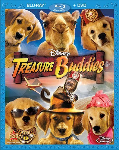 Treasure Buddies Riehle Cook Alexi Malle Blu Ray Ws G Incl. DVD