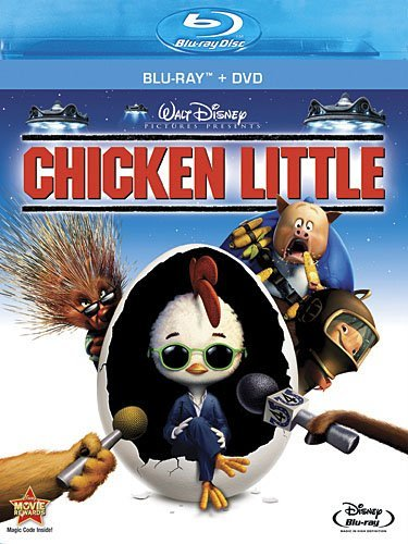 Chicken Little Chicken Little Blu Ray Ws G Incl. DVD
