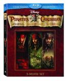 Pirates Of The Caribbean Trilo Depp Bloom Knightley Rush Ws Blu Ray Pg13 7 DVD