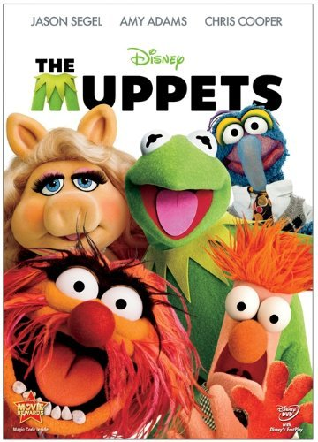 The Muppets (2011) Segel Adams Cooper DVD Pg