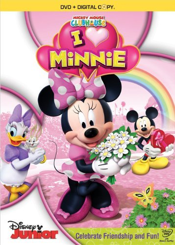 I Heart Minnie Mickey Mouse Clubhouse Ws Tvy Incl. Necklace