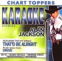 Alan Jackson Songs Of Alan Jackson Karaoke Incl. Cdg