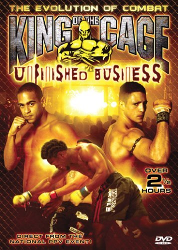 King Of The Cage Unfinished Business Clr Nr