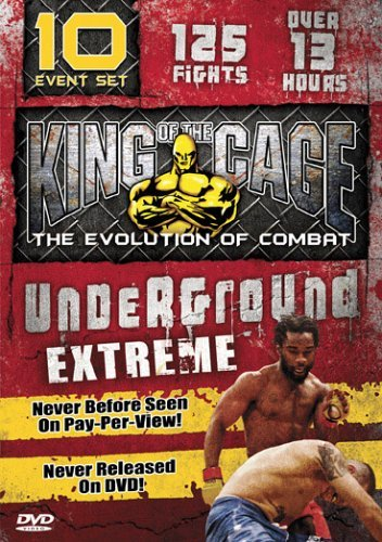 King Of The Cage Underground Extreme Clr Nr 5 DVD