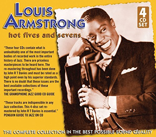 Louis Armstrong Hot Fives & Sevens 4 CD