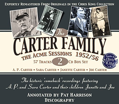 Carter Family Acme Sessions 1952 1956 2 CD Set