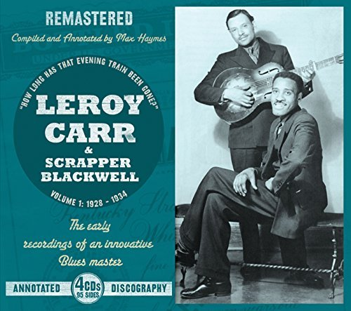 Leroy Carr Vol. 1 1928 34 4 CD