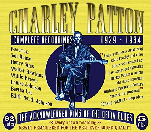 Charley Patton Complete Recordings 1929 34 4 CD