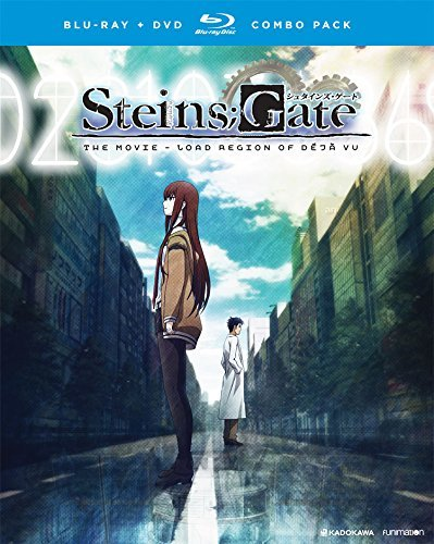 Steins;gate The Movie Load Region Of Deja Vu Blu Ray DVD