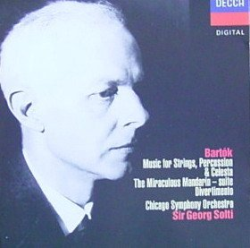B. Bartok Music For Strings Miraculous Solti Chicago Sym Orch