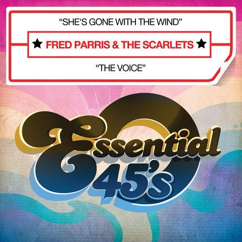 Fred & The Scarlets Parris/She's Gone With The Wind@Cd-R@Digital 45