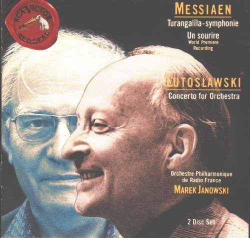 Messiaen Lutoslawski Sym Turangalila Ct Orch Sourie