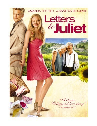 Letters To Juliet Seyfried Redgrave Bernal DVD Pg Ws