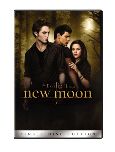 Twilight New Moon Pattinson Stewart DVD Pg13