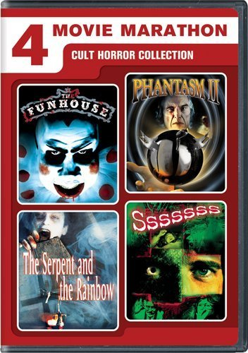 Cult Horror Collection 4 Movie Marathon Ws R 2 DVD