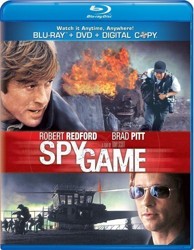 Spy Game Spy Game Blu Ray Aws Snap R Incl. DVD & Tech 30 Day Free