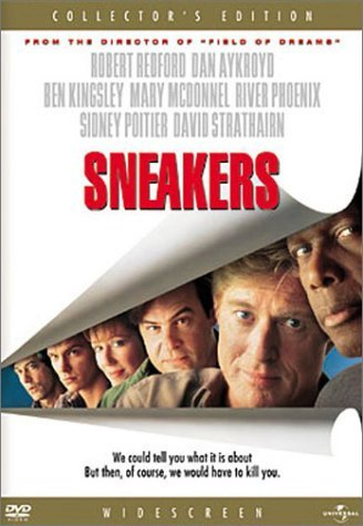 Sneakers Redford Aykroyd Kingsley Hearn DVD Pg13