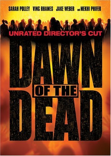 Dawn Of The Dead (2004) Polley Rhames Phifer Barry DVD Unrated
