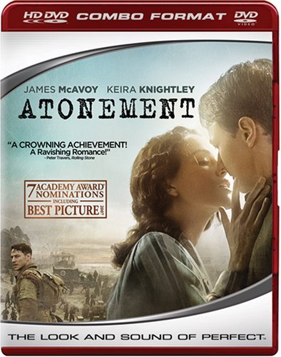 Atonement Knightley Mcavoy Ws Hd DVD R