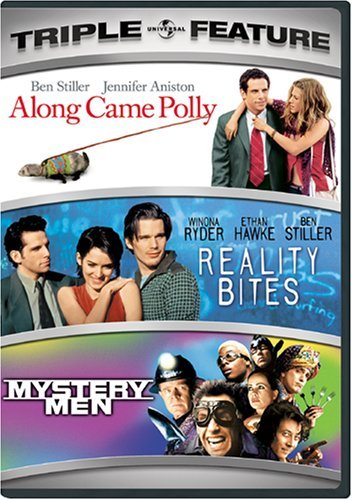 Along Came Polly Reality Bites Universal 3pak Ws Pg13 3 DVD