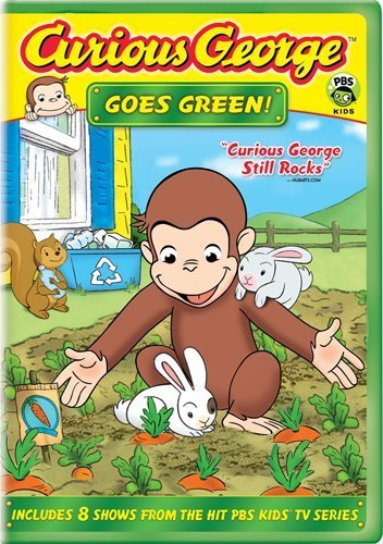 Curious George Curious George Goes Green Nr